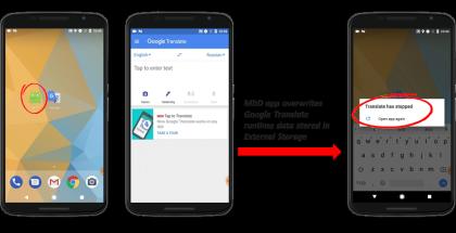 Korruptoitu koodi voi kaataa sitä huolimattomasti käsittelevät sovellukset, ennen päivitystä myös Google Translaten eli Google-kääntäjän.