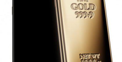 Tämä on lopputulos, kun Samsungin uuteen Galaxy Note9 -puhelinmalliin lisätään 1 kilo kultaa.