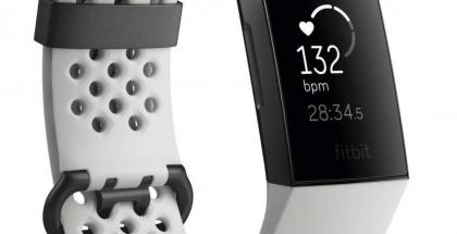Fitbit Charge 3 Android Authorityn vuotamassa kuvassa.