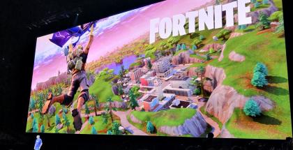 Fortnite-peli on Applen ja Epic Gamesin kiistan keskiössä.