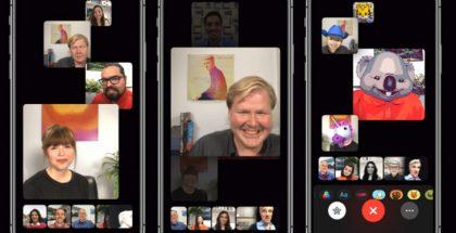 FaceTime-ryhmävideopuhelut.