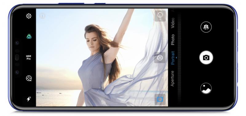 Nova 3:n kamerassa on AI-kuvausasetus.