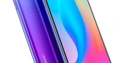 Huawei Nova 3 Violet Purple -värivaihtoehtona.