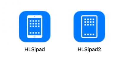 Vihjaus tulevasta: iOS-käyttöjärjestelmän sisältämä aiempi ja uusi iPadin kuvake.