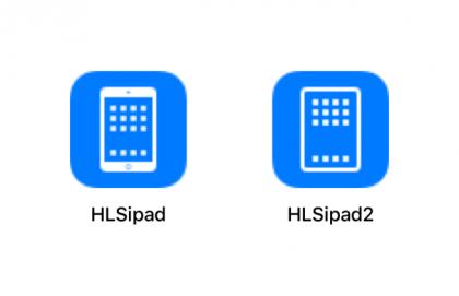 Vihjaus tulevasta: iOS-käyttöjärjestelmän sisältämä aiempi ja uunituore iPadin kuvake.