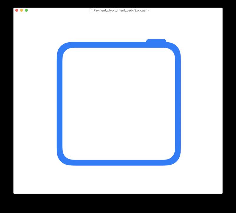 Tulevan iPad Pron kuvake on neliö, mille on kuitenkin selityksensä.