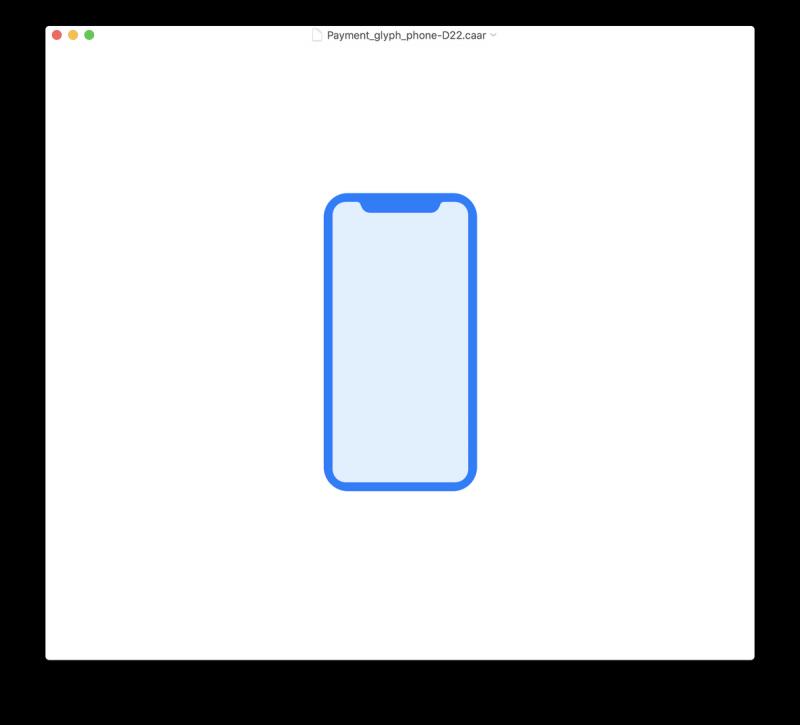 iPhone X:n kuvake.