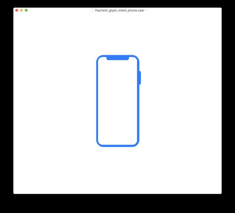 """iPhone X Plussan"" kuvake."