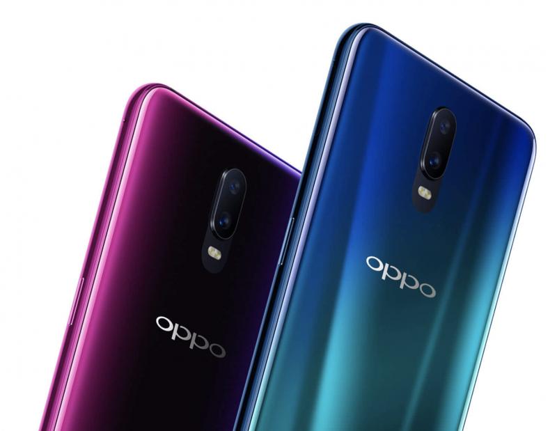 Takaa Oppo R17 muistuttaa jo melkoisesti OnePlus 6:ta.
