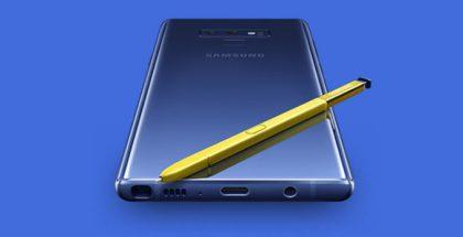 Samsungin vahingossa jo julkaisema Galaxy Note9 -ennakkotilaussivu.