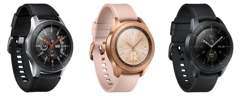 Samsung Galaxy Watchin eri malliversiot.
