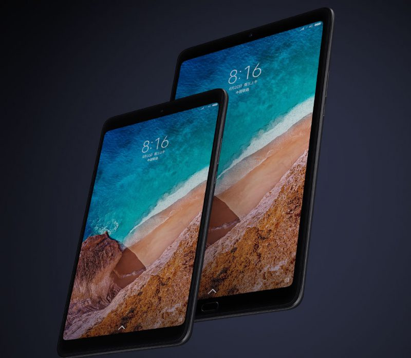 Xiaomi Mi Pad 4 ja Mi Pad 4 Plus vuodelta 2018.