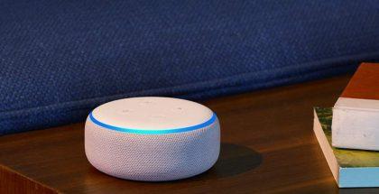 Amazonin Echo Dot -älykaiutin.