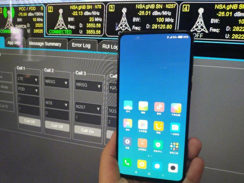 Xiaomin Mi MIX 3 5G.