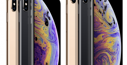 Apple iPhone XS ja iPhone XS Max.