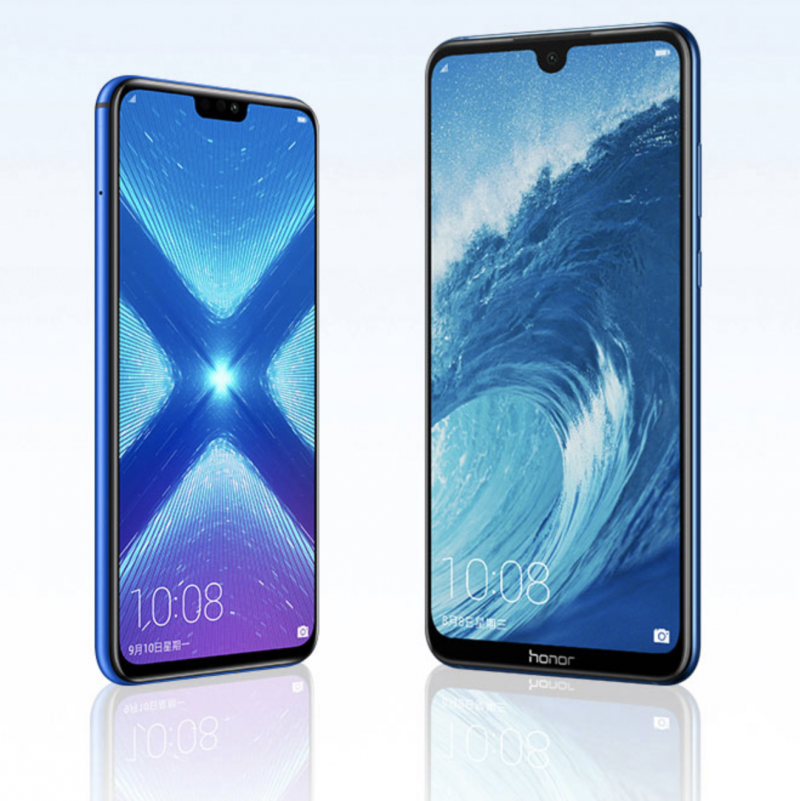 Honor 8X ja Honor 8X Max.