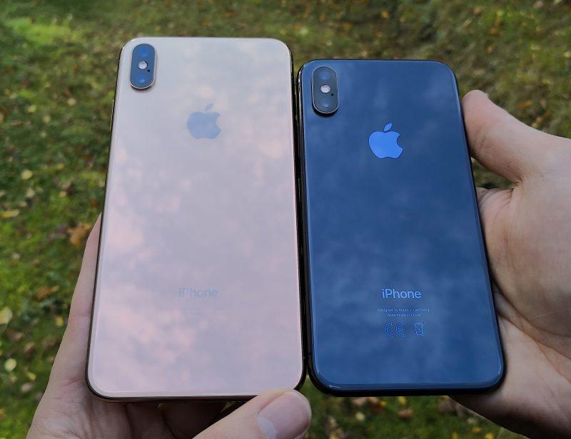iPhonet ovat takaa lasipintaisia. Apple on maininnut lasin olevan kestävintä mitä älypuhelimissa on nähty, ja pudotustesteissä uudet iPhonet ovatkin pärjänneet lasirakenteisiksi hyvin.