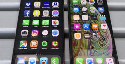 iPhone XS Maxilla ja iPhone XS:llä on kokoeroa, mutta suurempaan tottuu nopeasti.