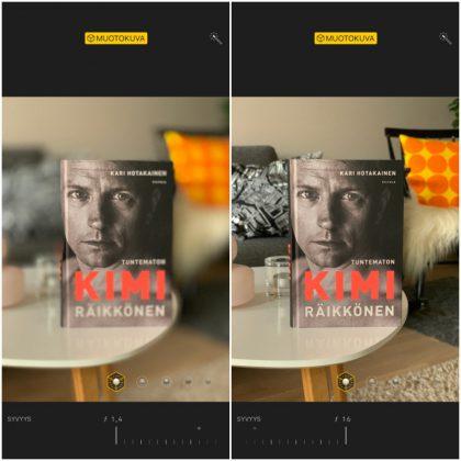 Kuvan syväterävyyttä voi muokata jälkikäteen. Tulossa oleva iOS 12.1 -päivitys tulee tuomaan muokkauksen käyttöön myös reaaliaikaisesti kuvaa otettaessa.