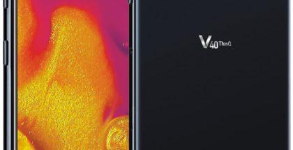 LG V40 ThinQ. Evan Blassin vuotama virallinen kuva.