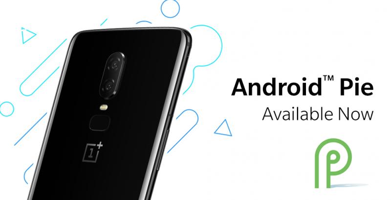 OnePlus 6 saa Android Pie -päivityksen.