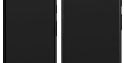 Pixel 3 ja Pixel 3 XL. Evan Blassin Twitterissä vuotama kuva.