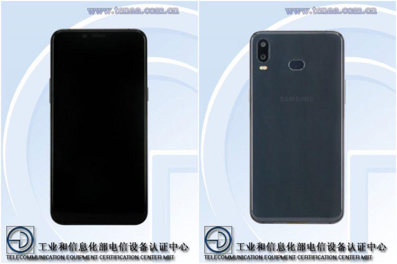 Samsungin SM-G6200-mallikoodin älypuhelin TENAAn kuvissa.