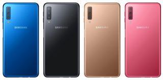 Samsung julkisti Galaxy A7:n – kolmella takakameralla varustettu älypuhelin myyntiin Suomessa 19. lokakuuta 349 euron hintaan