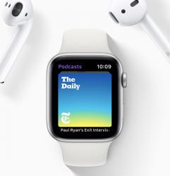 Apple Watch ja AirPods-kuulokkeet. Molempien myynti on kasvanut voimakkaasti.