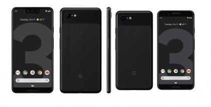 Google Pixel 3 ja 3 XL Just Black.