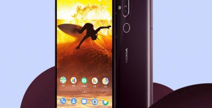 Nokia X7, pian todennäköisesi tunnettu myös Nokia 8.1 -nimellä.