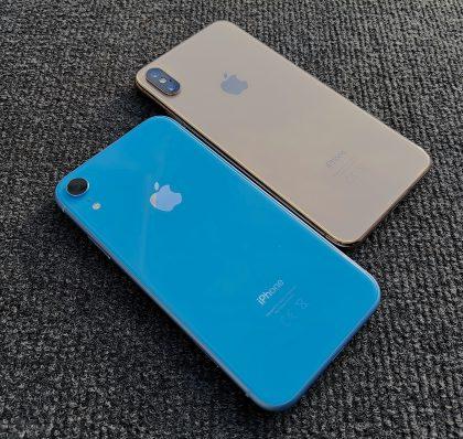 iPhone XR ja iPhone XS Max.