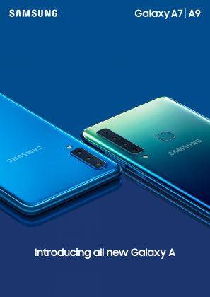 Galaxy A7 ja Galaxy A9.