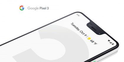 Google Pixel 3 XL.