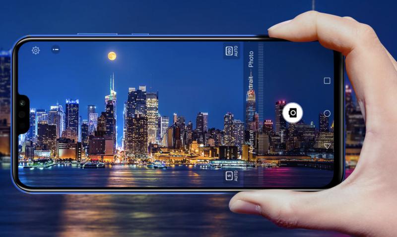 Honor 8X:n kamerasta löytyy myös tekoälyn voimin toimiva yökuvaustila.