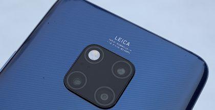 Mate 20 Prossa on kolme kameraa: 40 megapikselin pääkameran lisäksi 20 megapikselin ultralaajakulma- ja 8 megapikselin telekamera.
