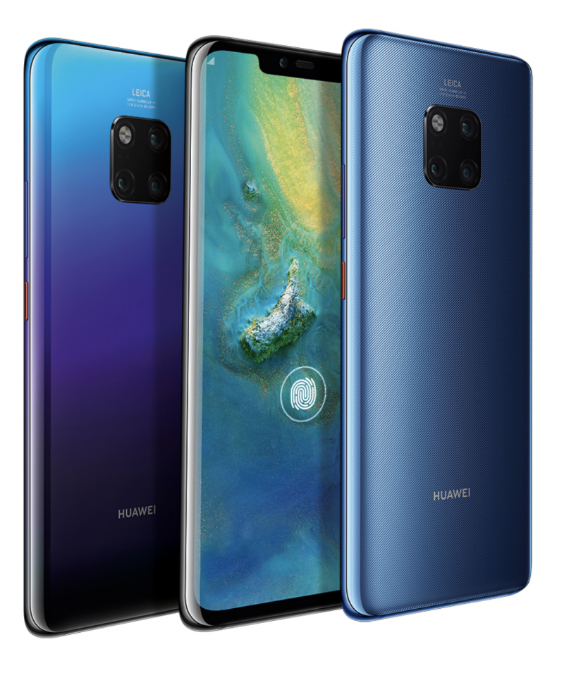 Huawein uusi Mate 20 Pro -huippupuhelin maksaa 999 euroa.