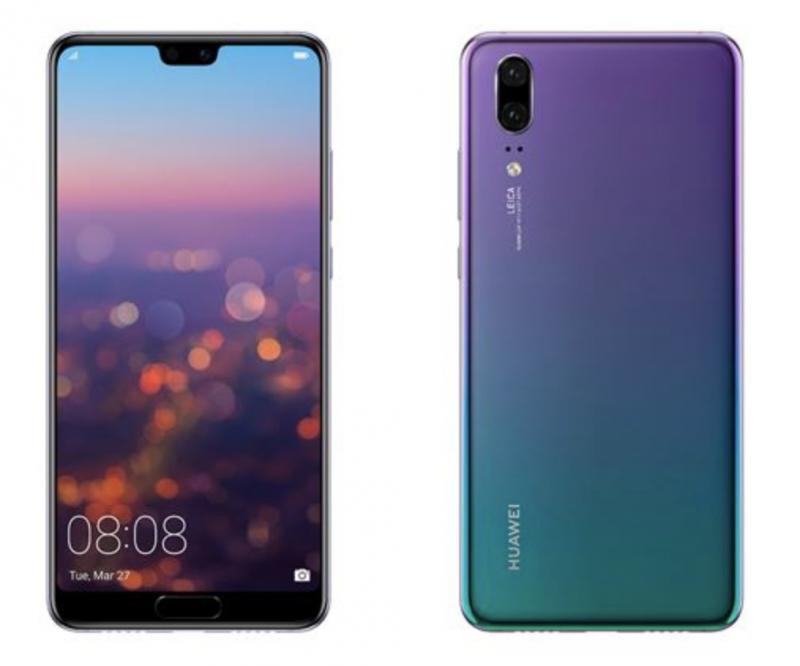 Huawei P20 Twilight-värinä.