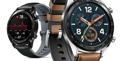 Huawei Watch GT eri tyyliversioina.