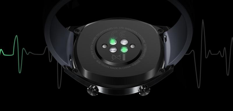 Huawei Watch GT:n sykemittari.