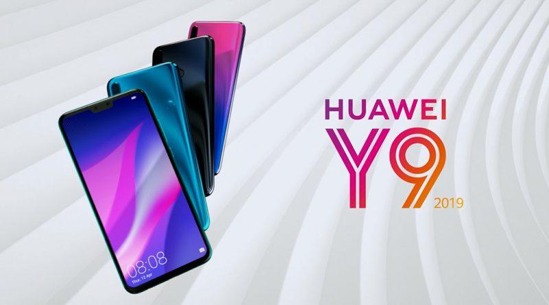 Huawei Y9 (2019).