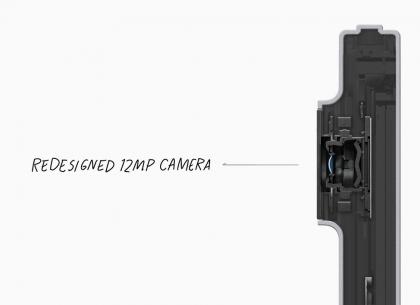 Uuden iPad Pron kamera.
