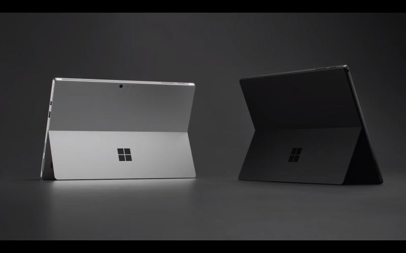 Surface Pro 6:n saa myös mustana.