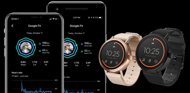 Misfit Vapor 2 toimii Wear OS -kellona niin Android- kuin myös iPhone-puhelinten kanssa.