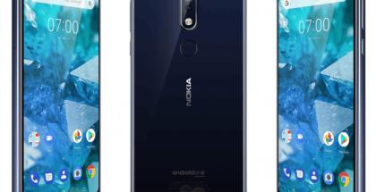 Nokia 7.1 WinFuture.den julkaisemissa kuvissa.