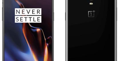 OnePlus 6T Mirror Black. WinFuture.de-sivustolla julkaistu vuotokuva.