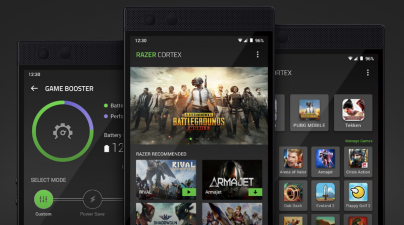 Razer Cortexilla voi vaikuttaa peliasetuksiin.