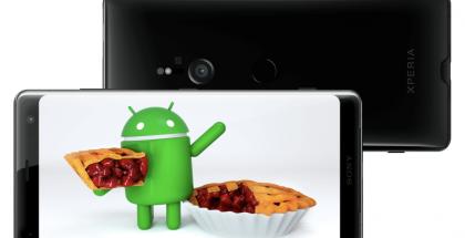 Sony Xperia XZ3:sta Android 9 Pie löytyi jo esiasennettuna.