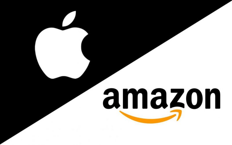 Apple + Amazon.