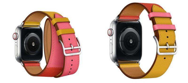 Apple Watchin Hermès-rannekkeiden uudet värit.